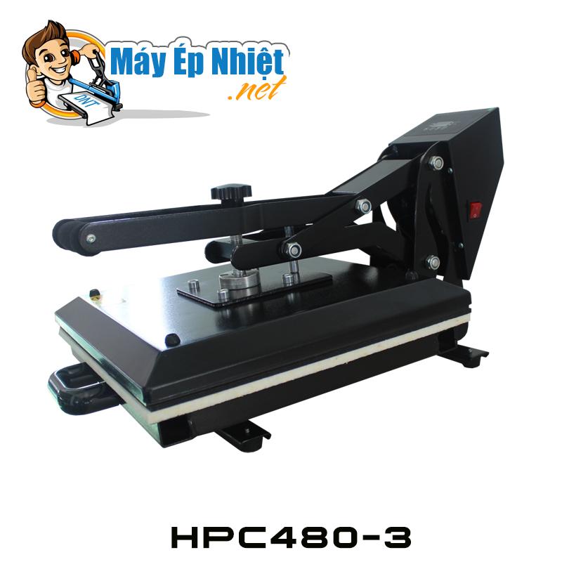 Máy ép nhiệt phẳng HPC480-3. KT 38*38cm