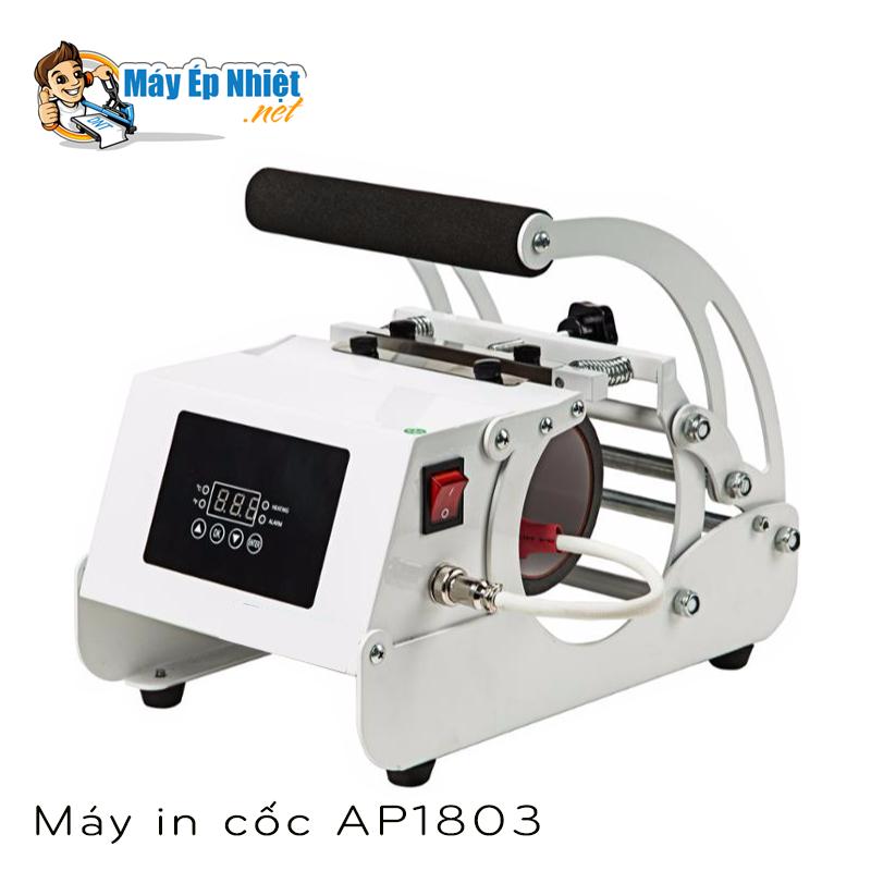 Máy in chuyển nhiệt lên cốc AP1803